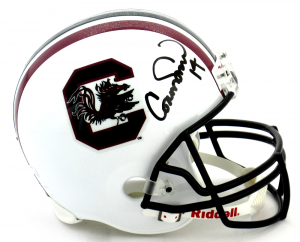 Connor Shaw Signed South Carolina Gamecocks Riddell Full Size NCAA Helmet-0