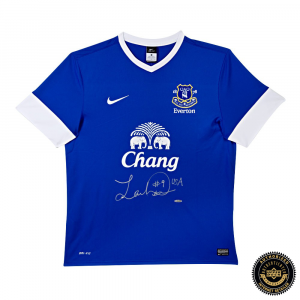 Landon Donovan Signed Authentic Blue Nike Everton Jersey-0