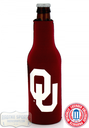 Oklahoma Sooners Officially Licensed 12oz Neoprene Bottle Huggie-0