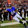 Steve Smith Sr Signed Baltimore Ravens 16x20 NFL Photo - Stretch-0