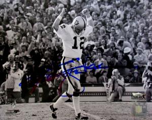 Ken Stabler Autographed/Signed Oakland Raiders 8x10 NFL Photo Super Bowl XI-0
