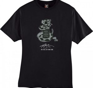 Ken Stabler Black Jukebox Short-Sleeve T-Shirt-0