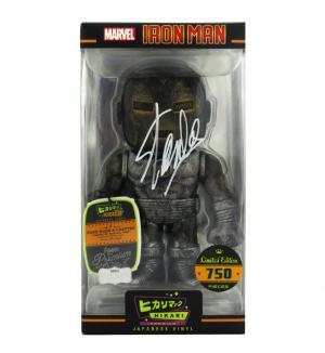 Stan Lee Signed Funko Pop! Marvel Raw Steel Iron Man Hikari - LE of 750-0