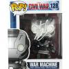 Stan Lee Signed Funko Pop! Marvel Civil War War Machine Toy-0