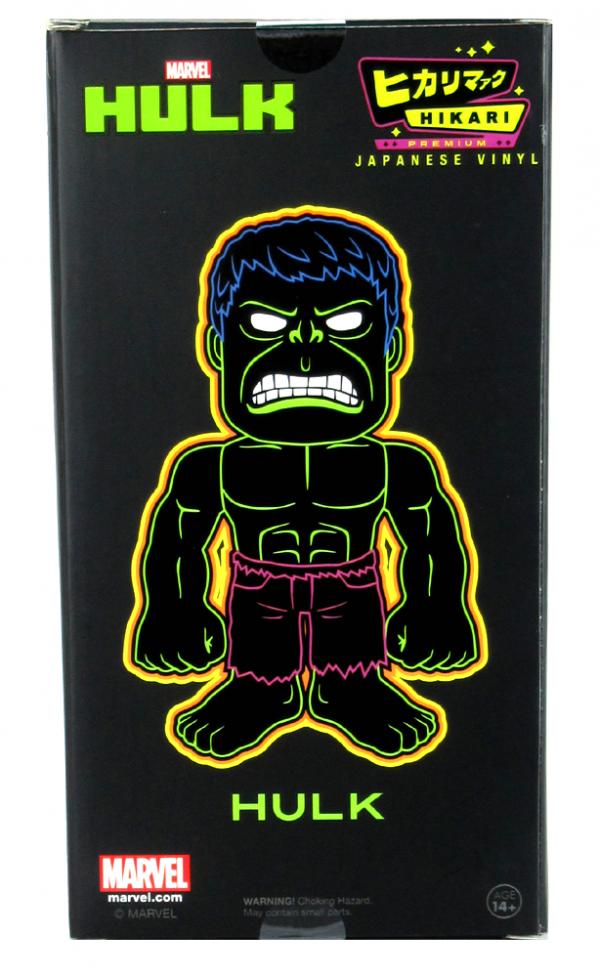 Stan Lee Signed Hikari Marvel Glitter Hulk Japanese Vinyl Figure LE 1100-5443