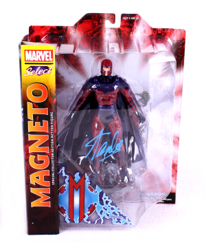 Stan Lee Signed Marvel Select X-Men Magneto In-Box Action Figure-0