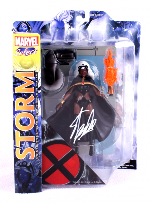 Stan Lee Signed Marvel Select X-Men Storm In-Box Action Figure-0