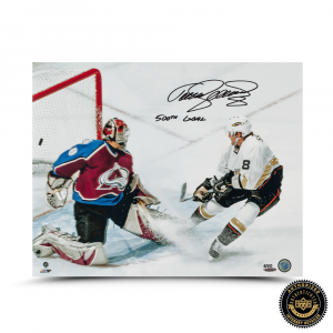 "Teema Selanne Signed ""500th Goal"" 16x20 Photo - LE-0"