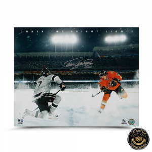 "Teema Selanne Signed ""Under the Bright Lights"" 16x20 Photo - LE-0"