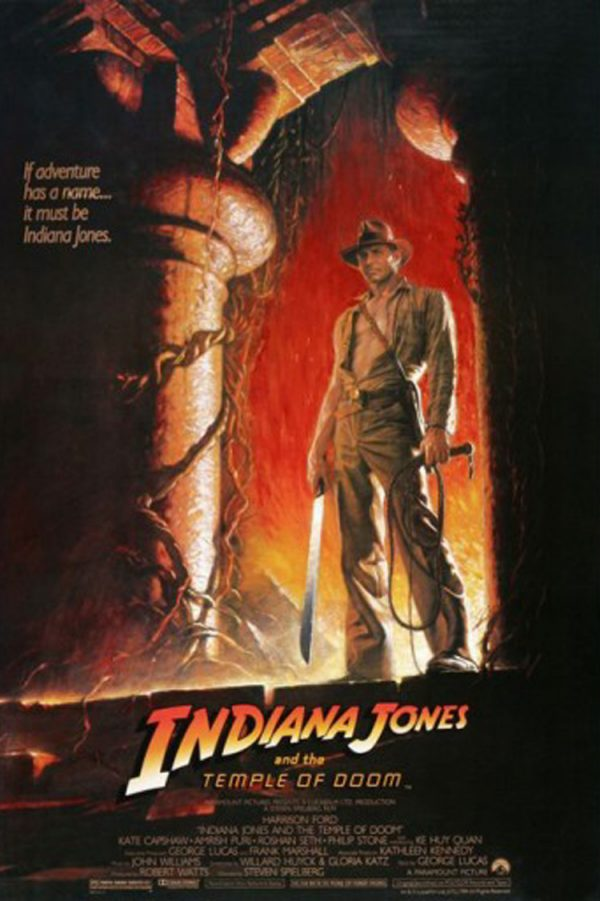 PRE-ORDER: Harrison Ford Signed Indiana Jones And The Temple Of Doom 27x40 Movie Poster - Option #1-0