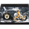 Tim Thomas Signed NHL Hockey Puck & Horizontal 8x10 Photo Curved Display - LE-0