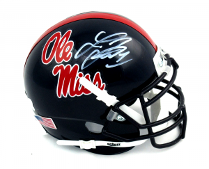 Laquon Treadwell Signed Ole Miss Rebels Schutt NCAA Mini Helmet-0