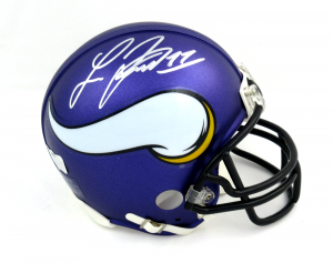 Laquon Treadwell Signed Minnesota Vikings Riddell NFL Mini Helmet-0