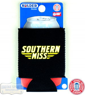 USM Golden Eagles Officially Licensed 12oz Neoprene Can Huggie - Southern Miss-0