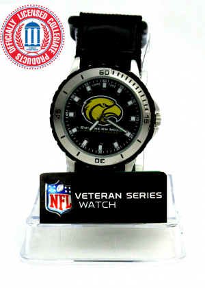 Southern Mississippi Golden Eagles Officially Licensed GameTime Veteran Series Men's Watch-0