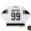 Wayne Gretzky Signed Road Los Angeles Kings Jersey-0