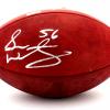 Sean Weatherspoon Signed Atlanta Falcons Wilson Authentic NFL Football-9889