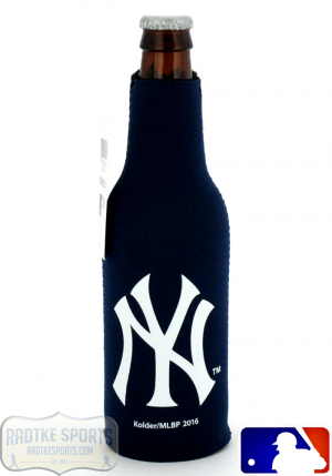 New York Yankees Officially Licensed 12oz Neoprene MLB Bottle Koozie-0
