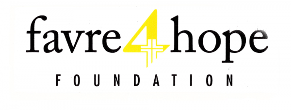 Official Favre 4 Hope Bumper Sticker with Yellow 4-0